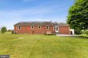 Large backyard - 13709 STRAFFORD DR, THURMONT