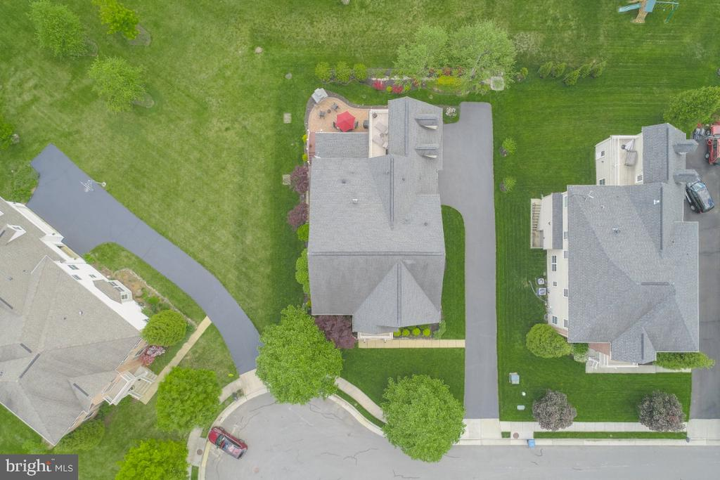 Aerial View of the Property - 42063 MIDDLEHAM CT, ASHBURN