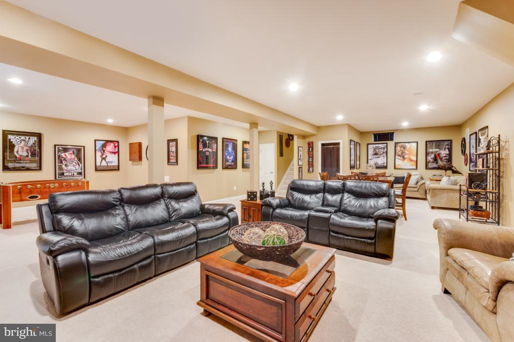 Spacious Rec Room is Great for Entertaining - 42063 MIDDLEHAM CT, ASHBURN