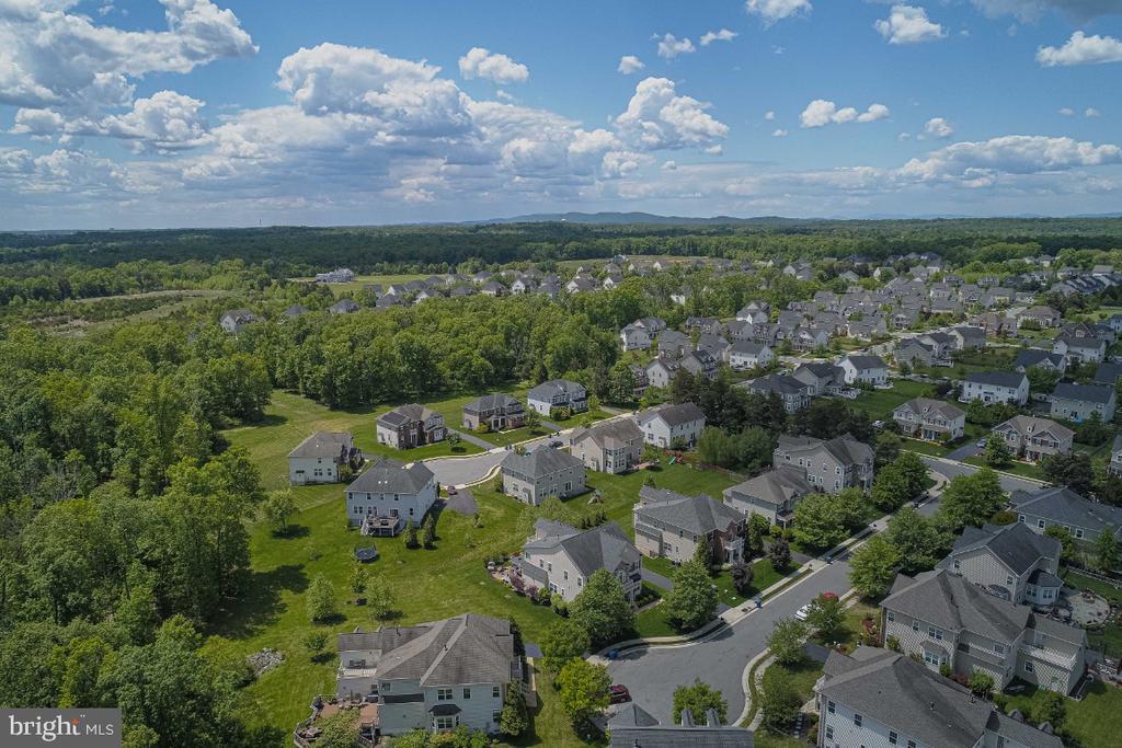 Aerial View - 42063 MIDDLEHAM CT, ASHBURN