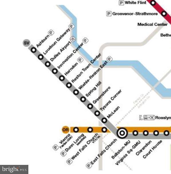 Silver Line Metro; CS Reston to Ashburn Stations - 42918 PARK BROOKE CT, BROADLANDS