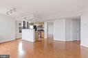 Living/ Dining Room - 1201 N GARFIELD ST #516, ARLINGTON