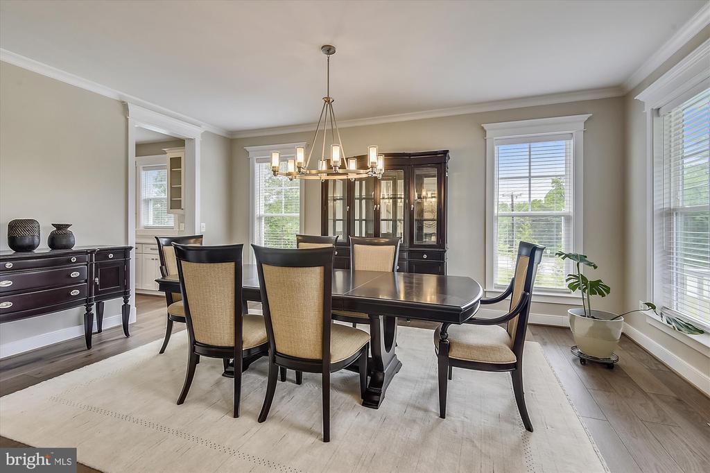 Formal dining room - 3122 BARKLEY DR, FAIRFAX