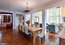Enter the open style  dining area. - 4651 35TH ST N, ARLINGTON