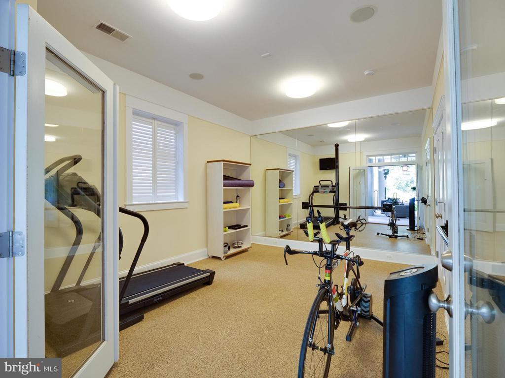 Lower level fitness room - 4651 35TH ST N, ARLINGTON