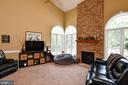 2 story family room - 4 AVOCET WAY, FREDERICKSBURG