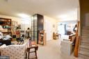 office area in basement - 4 AVOCET WAY, FREDERICKSBURG