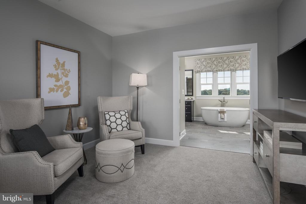 PRIMARY BEDROOM SITTING AREA - 0 LANEVE CT #1, NEW MARKET