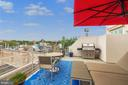 Private Roof Deck - 1737 JOHNSON AVE NW #D, WASHINGTON