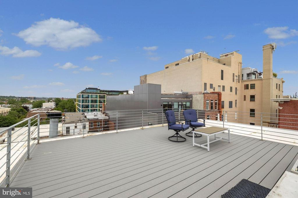 Rooftop Deck - 1737 JOHNSON AVE NW #D, WASHINGTON