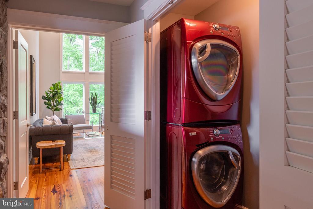 Laundry Room  #2 on upper level - 5075 POLK AVE, ALEXANDRIA