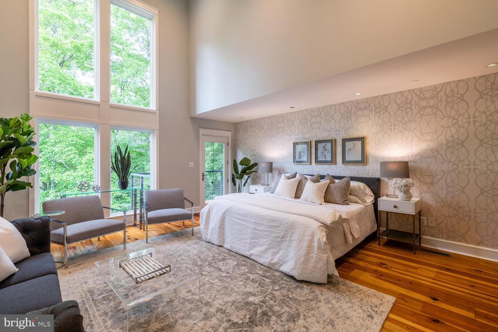 Primary bedroom with gorgeous windows - 5075 POLK AVE, ALEXANDRIA