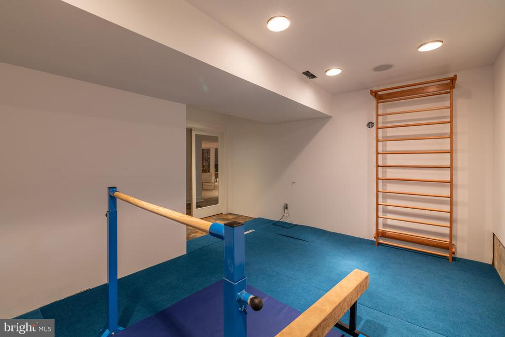 Prepped to be indoor pool- now a gymnasts' dream - 5075 POLK AVE, ALEXANDRIA