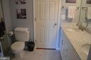 Updated tile in Jack & Jill full bath - 6304 SPRING FOREST RD, FREDERICK
