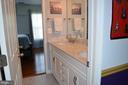 Jack & Jill Bathroom with updated vanity/floor - 6304 SPRING FOREST RD, FREDERICK