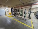 Lots of bike storage! Bike rooms and bike racks! - 1600 N OAK ST #532, ARLINGTON