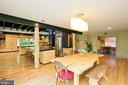 Dining Room / Kitchen - 246 SONGBIRD LN, WINCHESTER