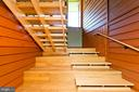 Staircase to upper level - 246 SONGBIRD LN, WINCHESTER