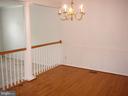 Beautiful Hardwood Floors in Dining room! - 208 ROVER CT, STAFFORD