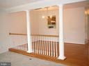 Butler window from Dining Rm to Kitchen! - 208 ROVER CT, STAFFORD