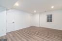 Bedroom 5 on lower level - 3015 WHITEHAVEN ST NW, WASHINGTON