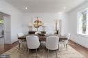 Dining Room - 3015 WHITEHAVEN ST NW, WASHINGTON