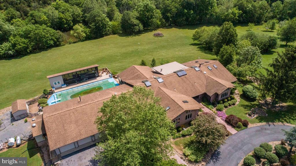 Above View of the Home - 721 BATTLEFIELD BLUFF DR, NEW MARKET