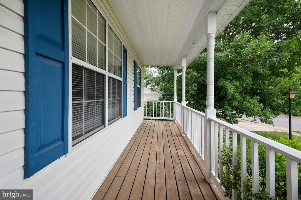 Will be painted/stained once weather clears - 49 DOROTHY LN, STAFFORD