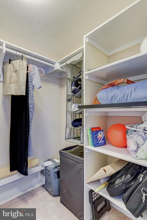 walk in closet - 2111 WISCONSIN AVE NW #501, WASHINGTON