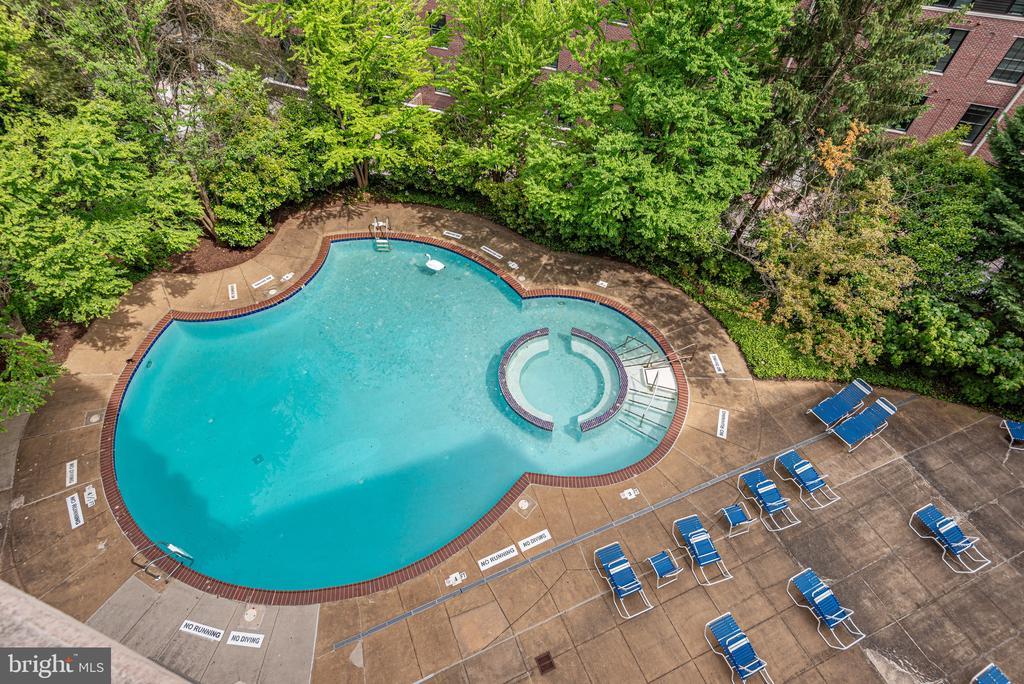 outdoor pool - 2111 WISCONSIN AVE NW #501, WASHINGTON
