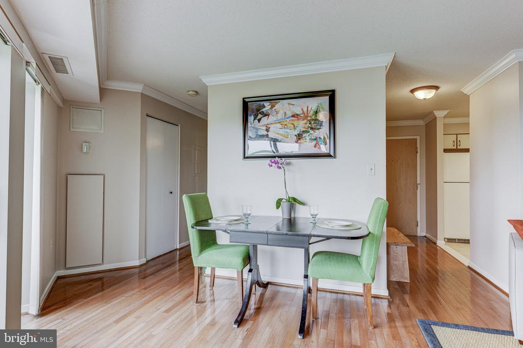 Dining area - 2111 WISCONSIN AVE NW #501, WASHINGTON