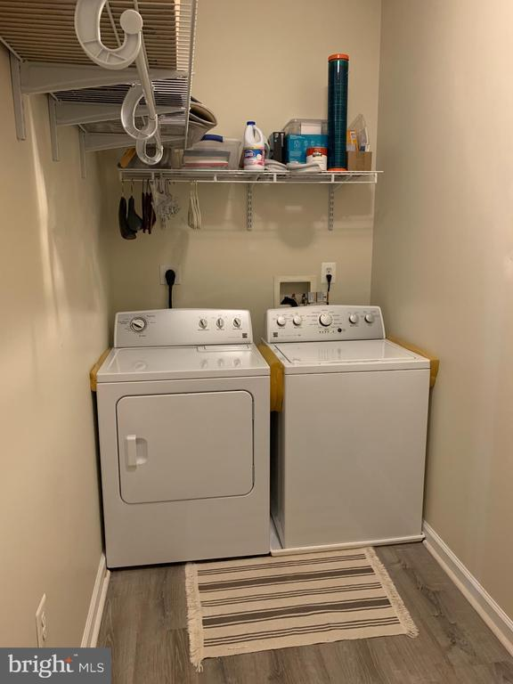Laundry room, upper level - 9020 LORTON STATION BLVD #1-114, LORTON