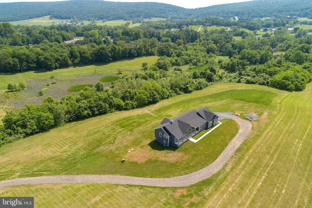 HIGH VIEW OF HOUSE - 3341 KAETZEL RD, ROHRERSVILLE