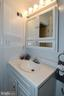 A fabulous vanity in the master bathroom! - 6463 FENESTRA CT #50C, BURKE