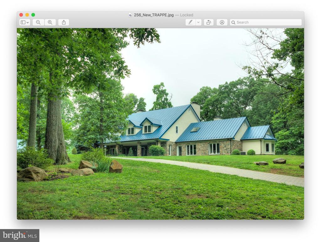 Another view of Main House - 20022 TRAPPE RD, BLUEMONT