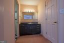 Bathroom sink /dressing area - 721 BATTLEFIELD BLUFF DR, NEW MARKET