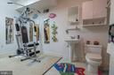 Lower Level Full Bathroom - 721 BATTLEFIELD BLUFF DR, NEW MARKET