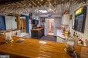 Lower Level Bar into Kitchen area - 721 BATTLEFIELD BLUFF DR, NEW MARKET
