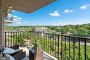 10th floor balcony - 4600 S FOUR MILE RUN DR #1007, ARLINGTON