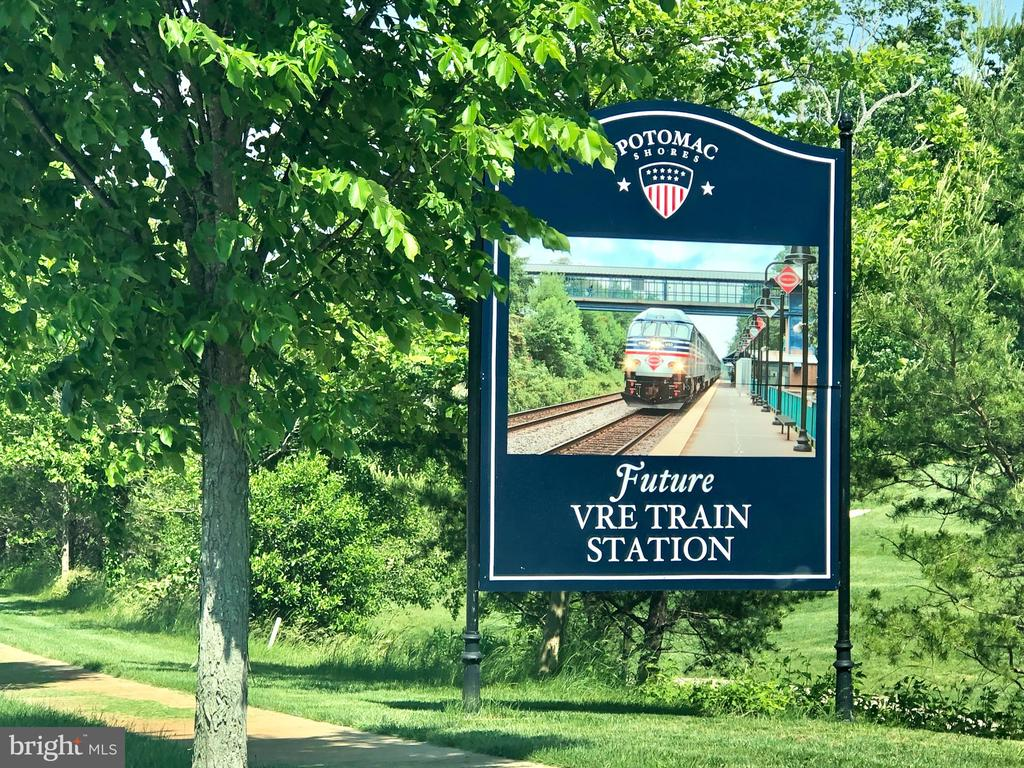 Potomac Shores will have a VRE Station - 17037 SILVER ARROW DR, DUMFRIES