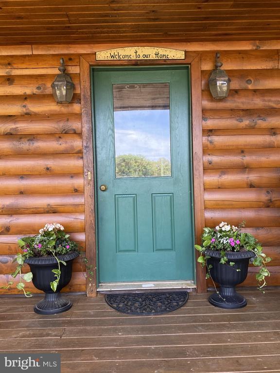 Front Door, Welcome Home! - 23039 RAPIDAN FARMS DR, LIGNUM