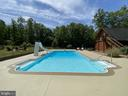 View From The Cabana. - 23039 RAPIDAN FARMS DR, LIGNUM
