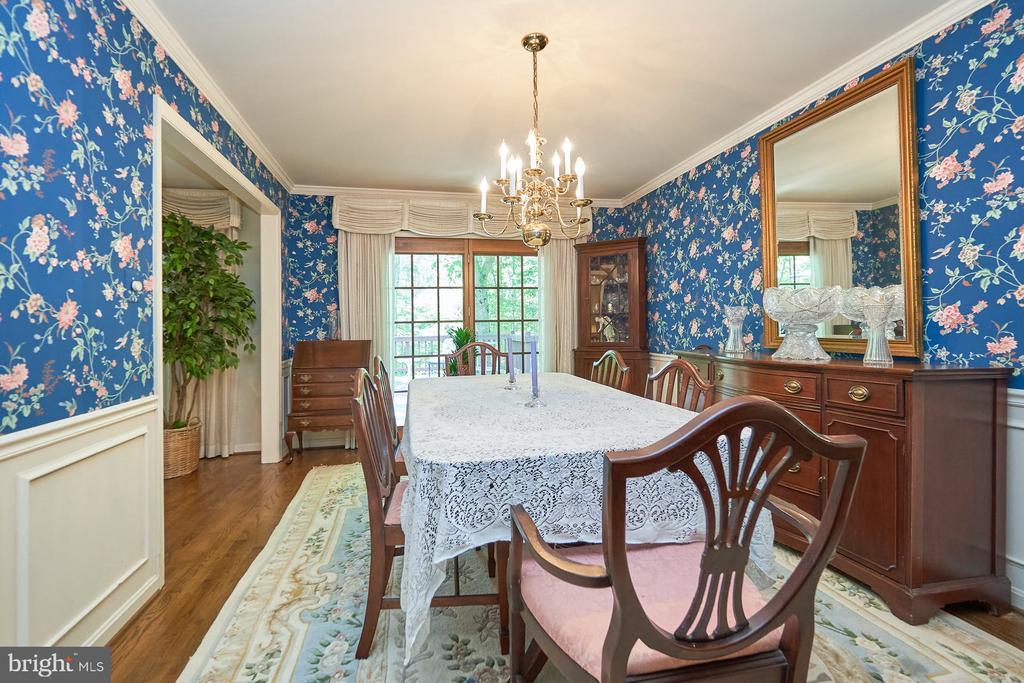 Formal dining room - 10824 HENDERSON RD, FAIRFAX STATION