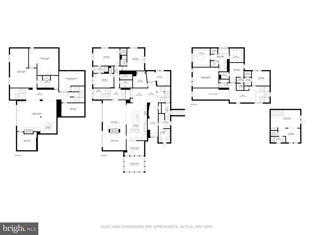 Floor plans - 5075 POLK AVE, ALEXANDRIA