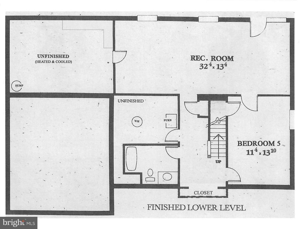 Floorplan Basement - 4266 WILTSHIRE PL, DUMFRIES