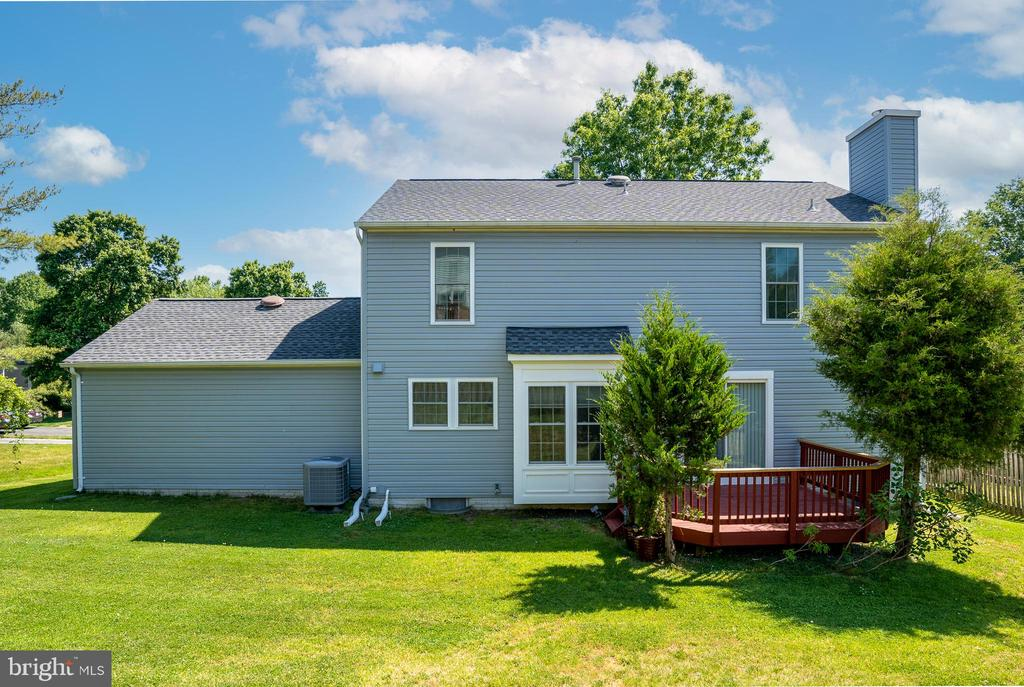Rear View of this terrific Colonial Home! - 13 SYDNEY LN, STAFFORD