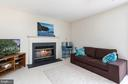 Family Room with Gas Fireplace - 13 SYDNEY LN, STAFFORD