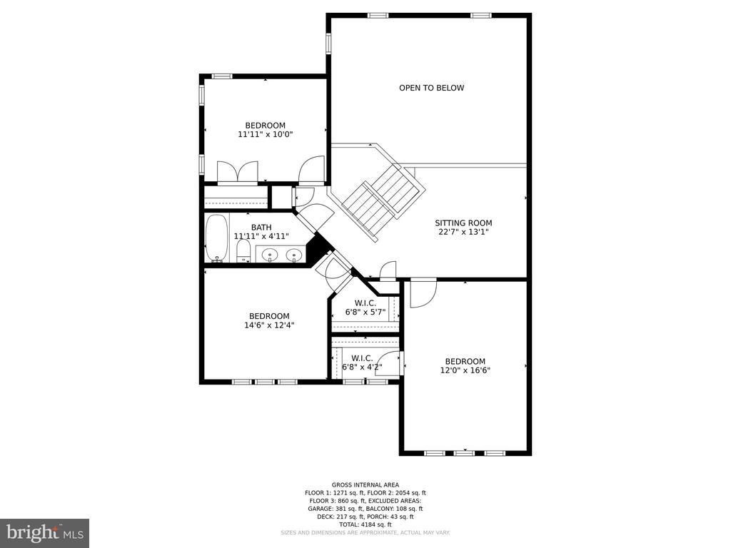 Floor Plan - 9702 WOODFIELD CT, NEW MARKET