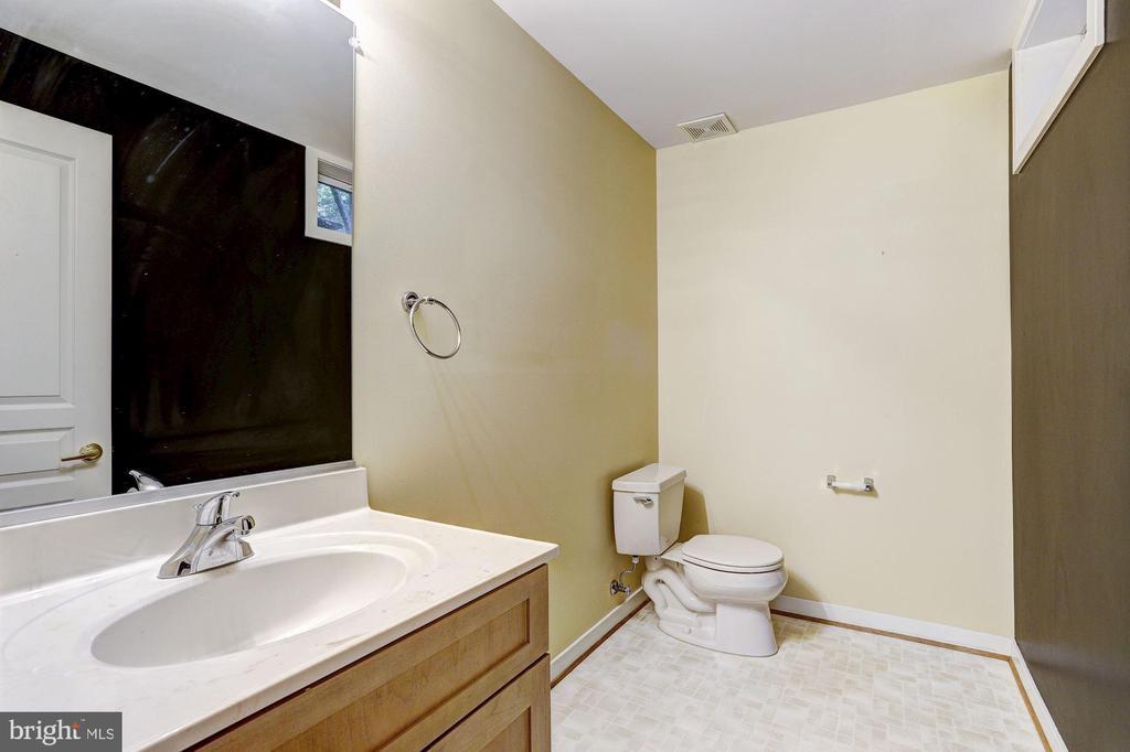 Powder Room - 9702 WOODFIELD CT, NEW MARKET