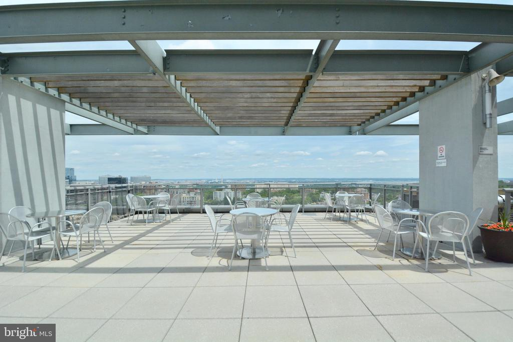 Roof Top Deck overlooking the Washington Monument - 2001 15TH ST N #1203, ARLINGTON